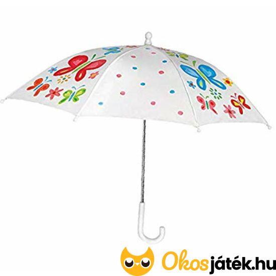 színezhető esernyő készítő
