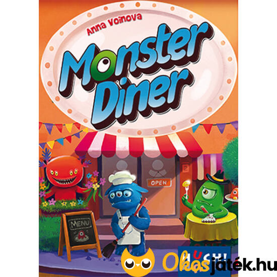 Monster Diner kártyajáték