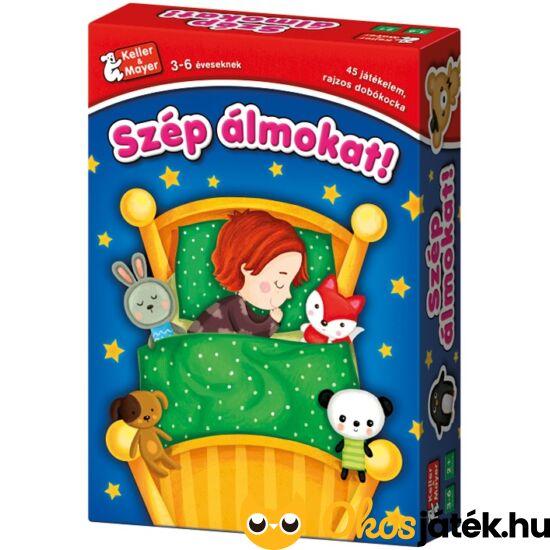 Szép álmokat társasjáték 3 és 4 éves gyerekeknek - KellerMayer 713250 (KM-11)