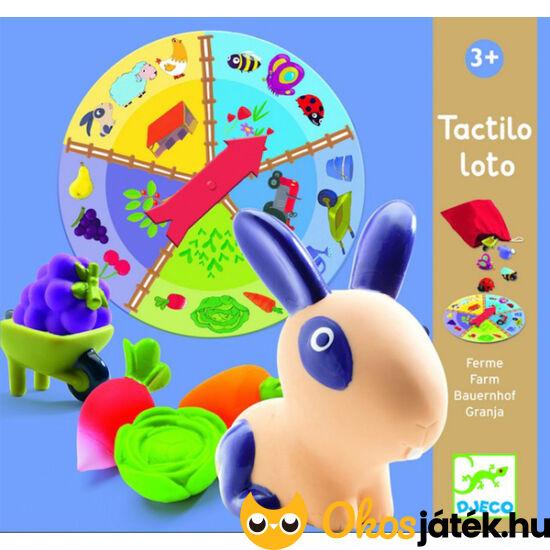 Forma tapintós játék - Tactilo loto - DJ 8135