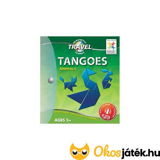 Tangoes utazáshoz mágneses tangram - állatok - GA