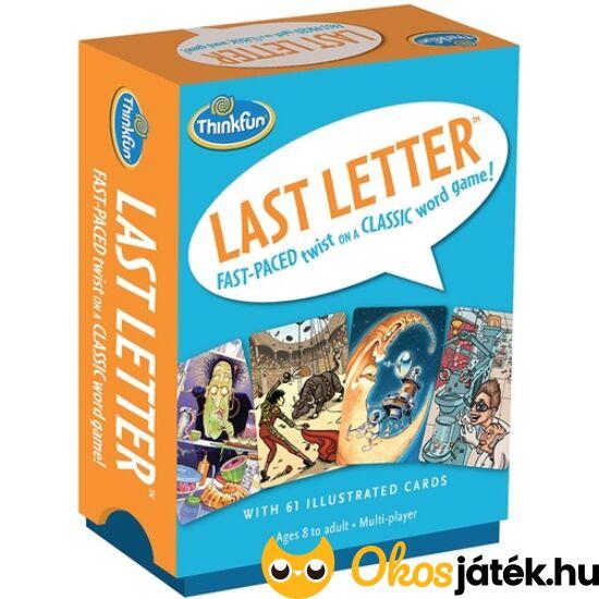 """Thinkfun """"Utolsó betű"""" (Last Letter) kártyajáték társasjáték (GE)"""