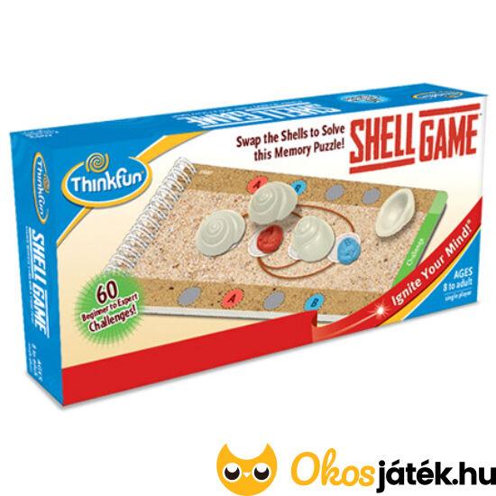 "Shell Game Kagylós logikai ThinkFun játék (GE) ""Utolsó darabok"""