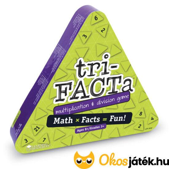 Tri-Facta szorzás-osztás gyakorló társasjáték Learning Resources -  LER 3039