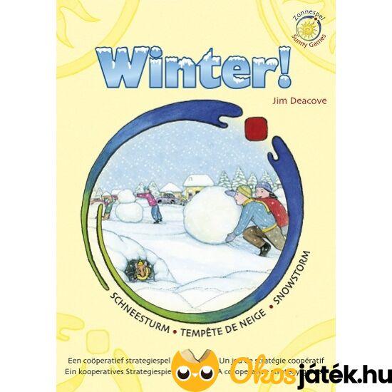 Winter hóvihar kooperatív társasjáték (KO)