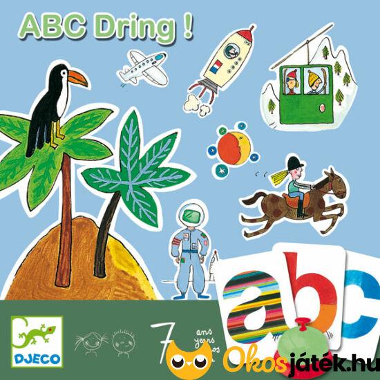 ABC Dring szókincsfejlesztő társasjáték - DJ 8484  NFT