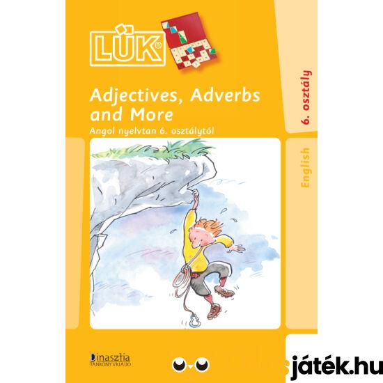 Adjectives, adverbs angol nyelvi gyakorló LÜK füzet 24-es táblához (DI) LDI-323