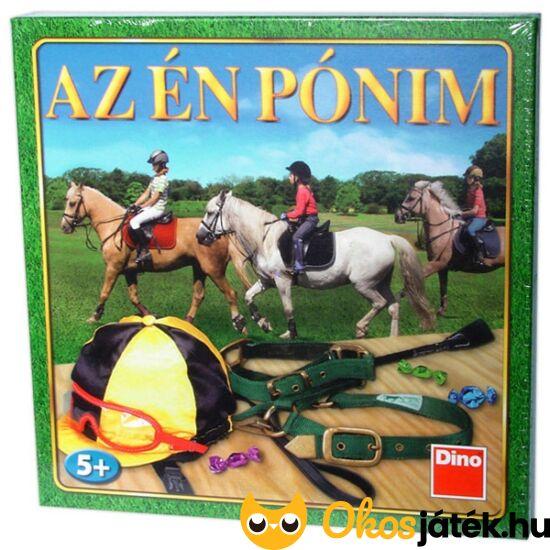 """Az én pónim lovas társasjáték gyerekeknek 73130 (RE) """"utolsó darabok"""""""