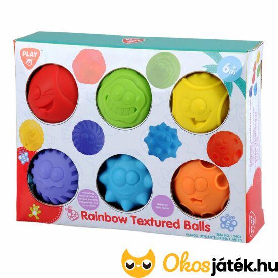 Érzékfejlesztő labda készlet - szenzoros játék - JN 2403