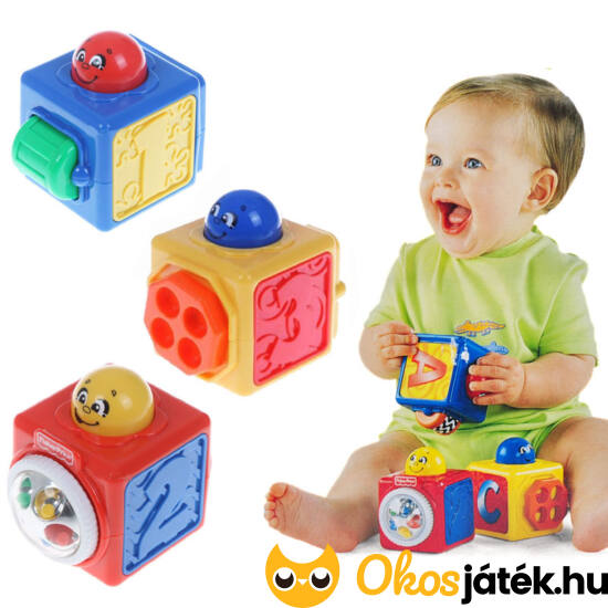 Fisher Price mókakockák (JN) DHW15