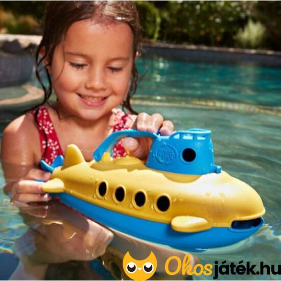 """Green Toys játék tengeralattjáró (BI) """"utolsó darabok"""""""