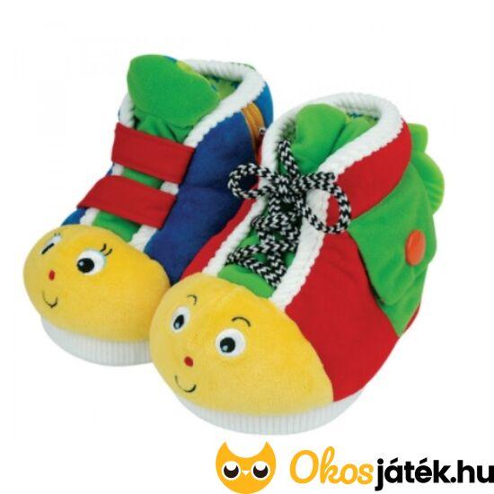 Készségfejlesztő bébijáték - plüss tanító cipő - K's Kids 10461 (VI)
