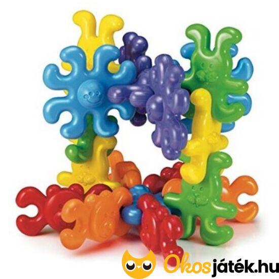 Quercetti Korong építőjáték - állatos összepattintós - Animal Links - KW 4135