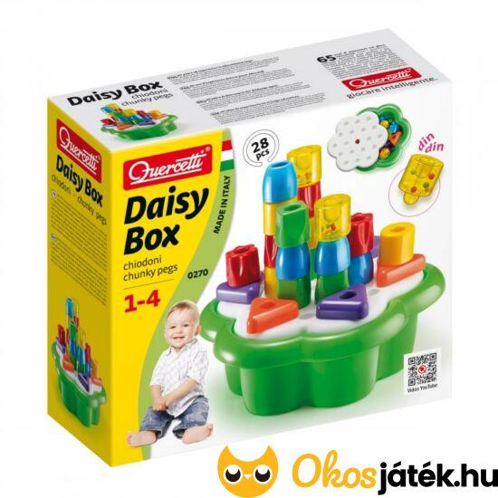 Quercetti bébi építőjáték Daisy Box 0270 (KW)