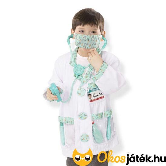 """Doktor, orvos jelmez kiegészítőkkel gyerekeknek - Melissa Doug 14839 (ME-8T) """"Utolsó darabok"""""""