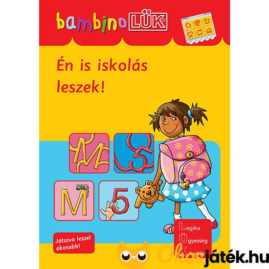 Én is iskolás leszek!  Lük Bambino füzet LDI-129