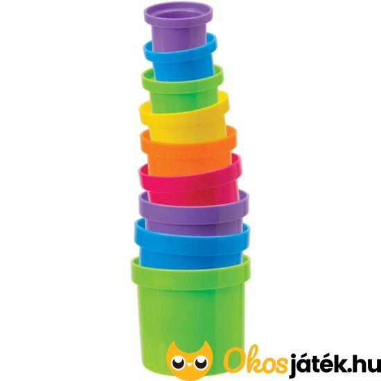 Toronyépítő, pohár a pohárban és fürdő játék - Alex (KE)