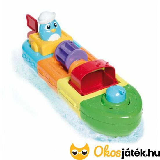 """Tomy felhúzható, variálható hajó fürdőjáték (MH) """"utolsó darabok"""""""