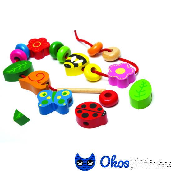 Fa fűző játék - Tidlo - JC T0082