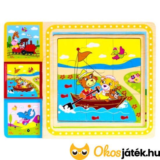 9 db-os fa puzzle