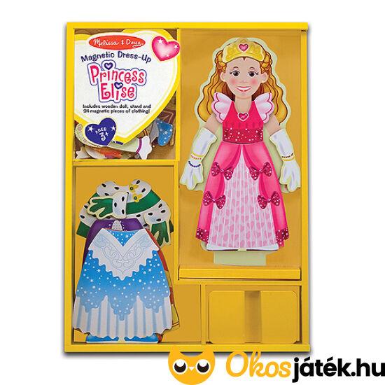 Öltöztethető Elise hercegnő - mágneses öltöztetős játék Melissa Doug 13553 (ME-54)