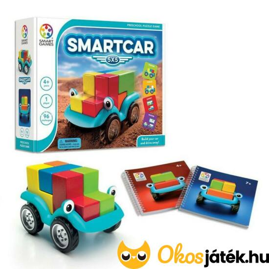 Smart Car, fa autós logikai játék - fiús gyerekjáték Smart Games - GA