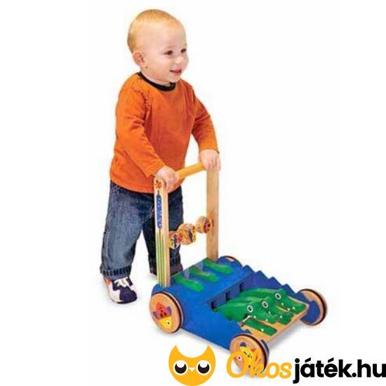 Fa járássegítő, baba járássegítő játék, krokodilos - Melissa & Doug 13011 (ME)