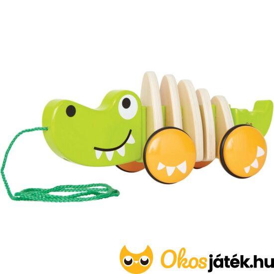 """Húzogatható játék krokodil - Hape E0348 (HO) """"Utolsó darabok"""""""