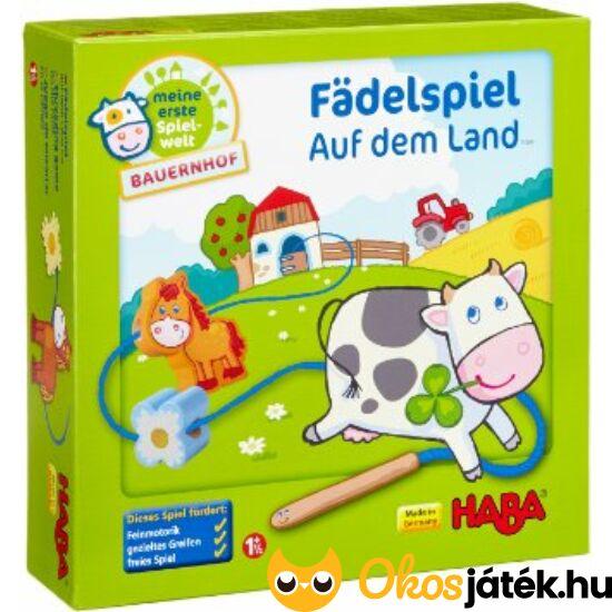 Haba fűzőjáték kicsiknek - Farm - Fädelspiel - HA