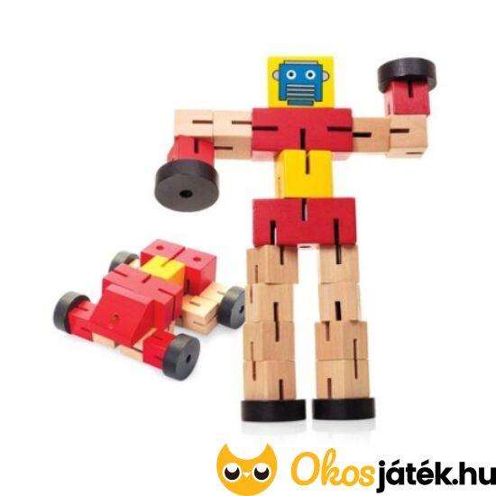 Transformbot - Átalakítható robot-autó transformer fából (TB)