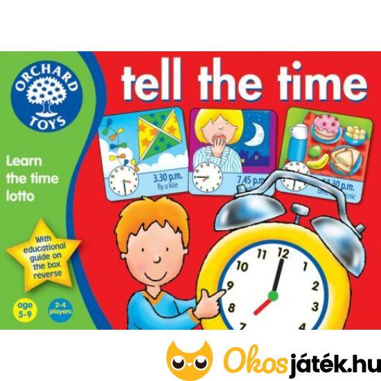 Óra tanulás játékosan - Tell the time Orchard Toys (KA)