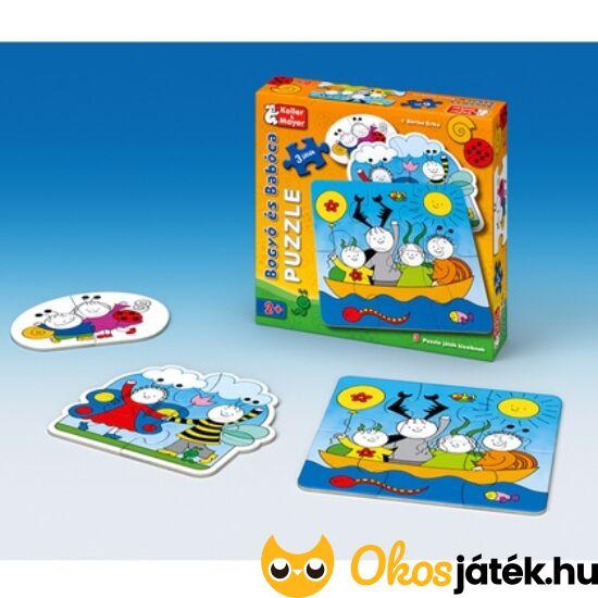 Bogyó és Babóca baba puzzle - 2-4-6 db-os