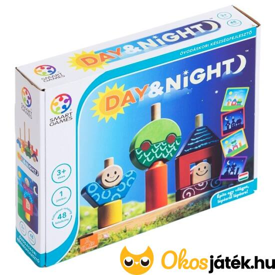 Day and Night kirakó Smart Games logikai-kreatív játék (GA)