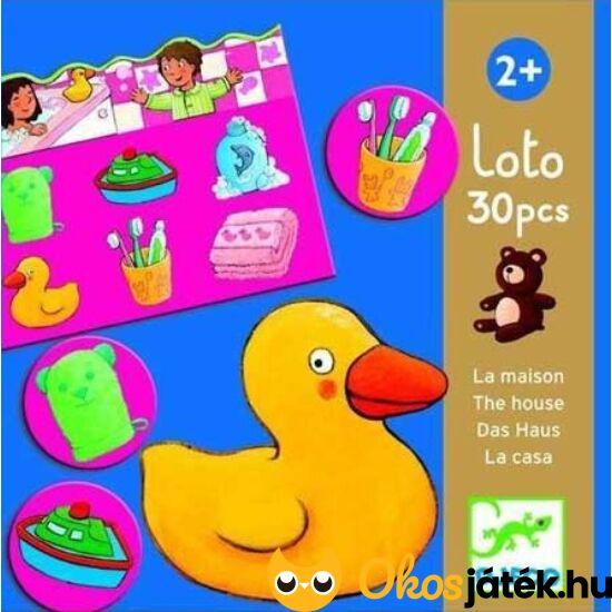Az otthon szavai - lotto játék piciknek - DJ 8121