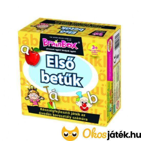 Brainbox Első betűk - memória és betű játék kicsiknek (KE)