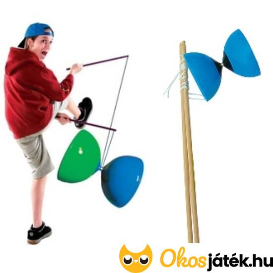 Diabolo ügyességi játék - Diaboló zsonglőr játék gyerekeknek (HU)