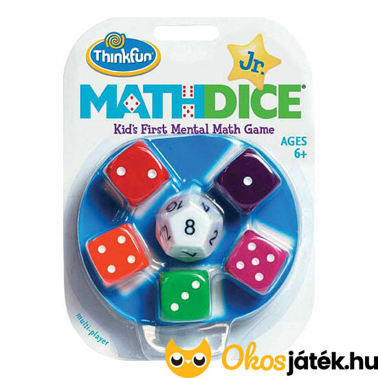 Math Dice JUNIOR ThinkFun - GE