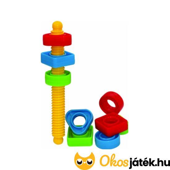 Műanyag csavar játék Gowi 264-89 (HA)