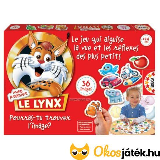 Le Lynx - Ravasz róka társasjáték kicsiknek való változata 36 kép 15492 (HO)