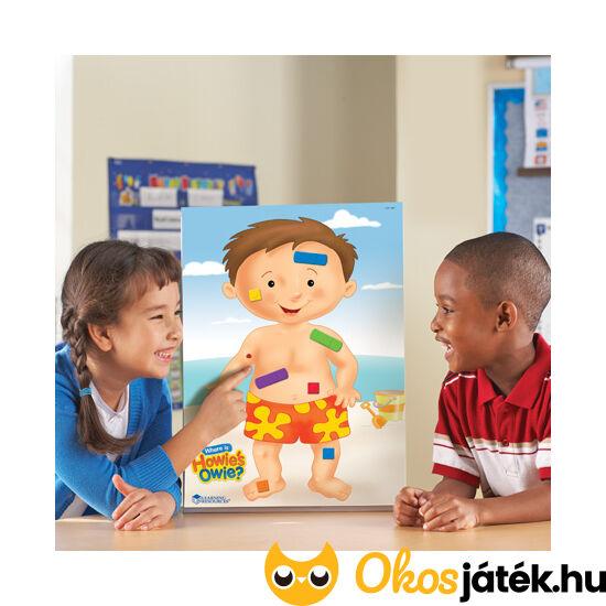 """Testrészek oktató játék gyerekeknek - Where is Owie's howie? (LR) """"Utolsó darabok"""""""