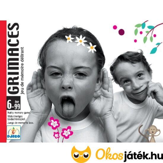 """Grimaces Djeco vicces memória kártyajáték DJ5169 (BO) """"Utolsó darabok"""""""