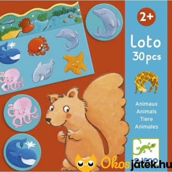 Állatos lotto játék -  DJ 8120