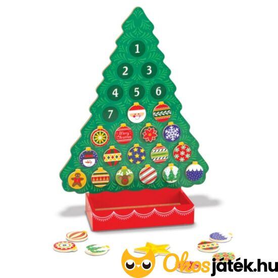 Adventi naptár gyerekeknek, karácsonyfa alakú - Melissa Doug 13571 (ME)