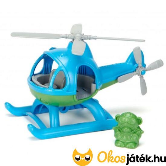 Green Toys helikopter játék, pilótával - 1060 (BI)
