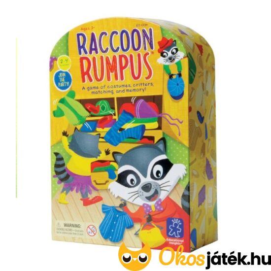 Racoon Rumpus - Mosómaci Laci, színek és formák öltöztetős  társasjáték Learning Resources EI-1734 (LR)