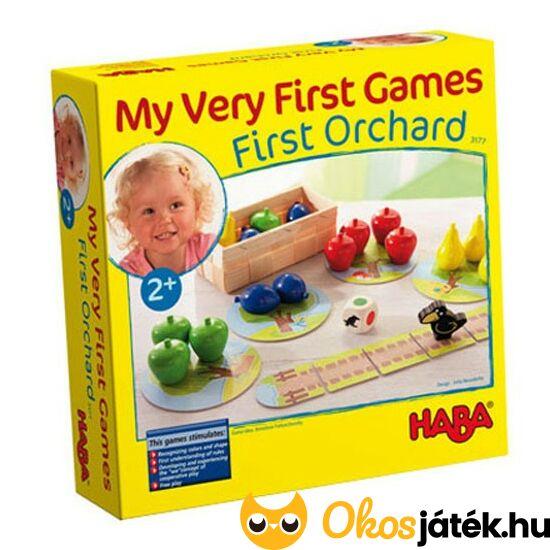 Első gyümölcsöskert társasjáték 2 éves kortól - HABA Erster Obstgarten (HA)