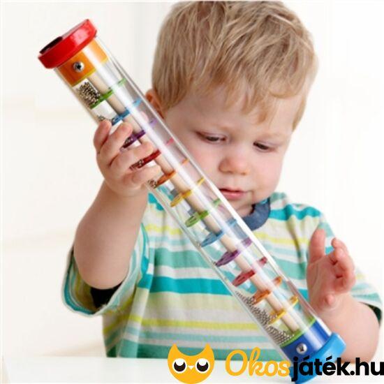 Esőcsináló hangszer játék gyerekeknek - Goki 61947 (HO)