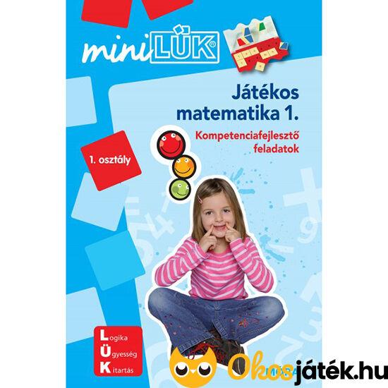 """Játékos matematika 1. Lük Mini feladatlapok LDI218  """"Utolsó darabok"""""""