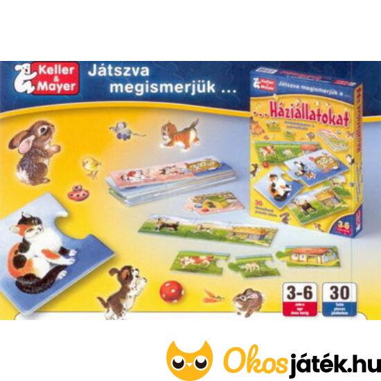 Játszva megismerjük a háziállatokat - gyerekjáték  - Keller & Mayer (KM)