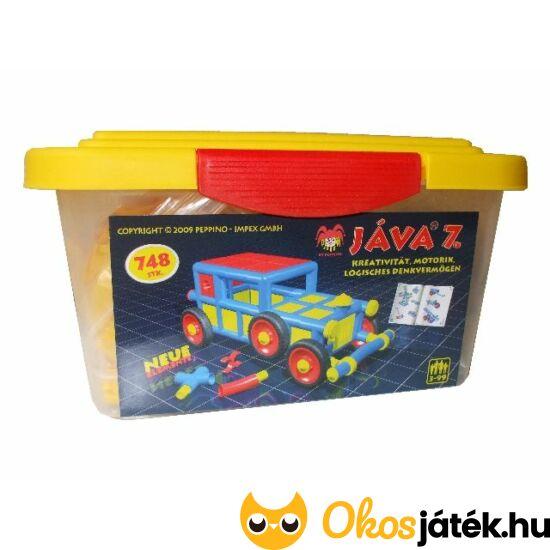 Java 7 építő játék műanyag dobozban - PE